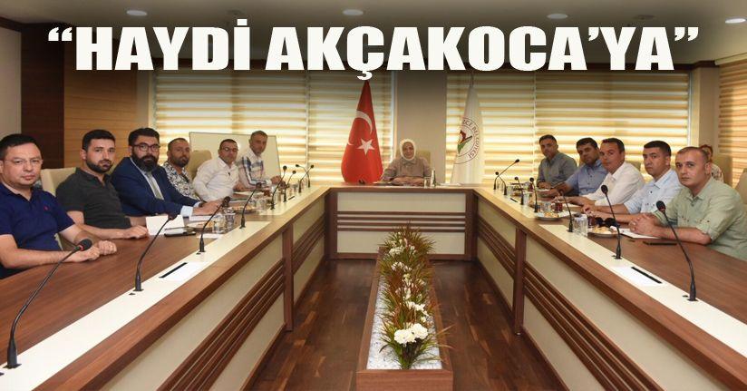 Amaç Akçakoca'da turizmi canlandırmak