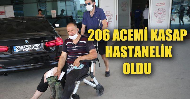 Kurban Bayramı'nın ilk gününde 206 acemi kasap hastanelik oldu