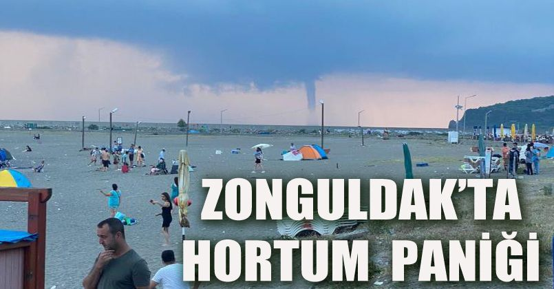 Zonguldak'ta hortum paniği