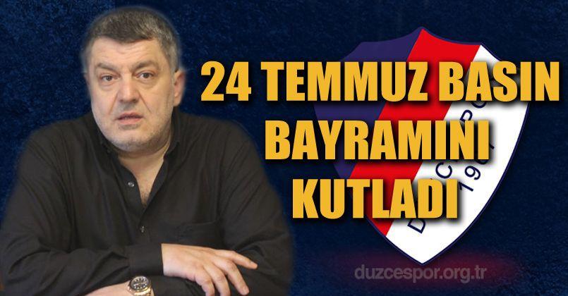 Düzcespor Basın Bayramını Kutladı