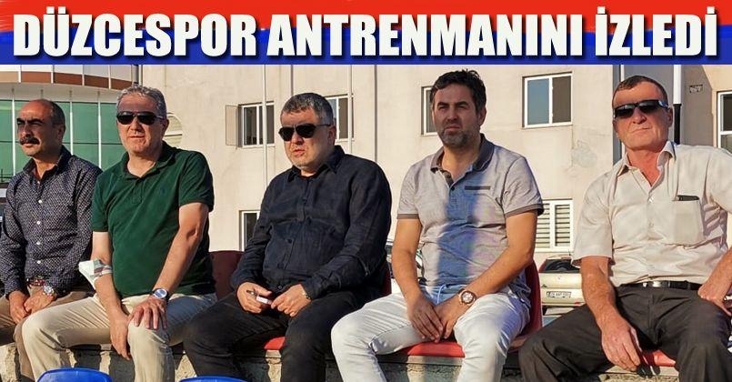 Atanur Aksoy'dan Düzcespor'a ziyaret