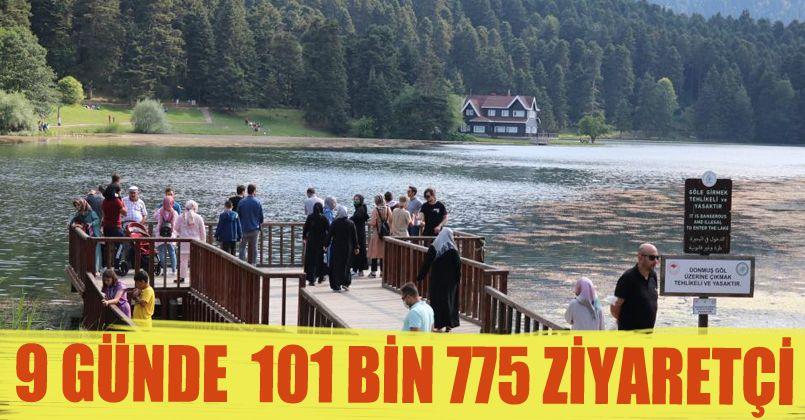 Bolu 9 günlük tatilde ziyaretçi akınına uğradı