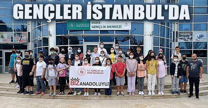 Gençler İstanbul'da