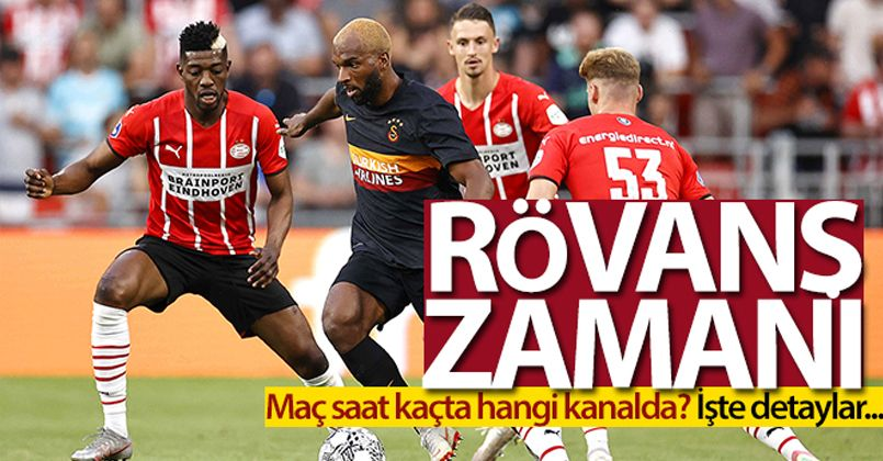 8. randevu! Galatasaray - PSV maçı saat kaçta hangi kanalda?