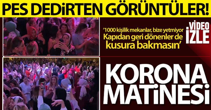 Bursa'da korona matinesi