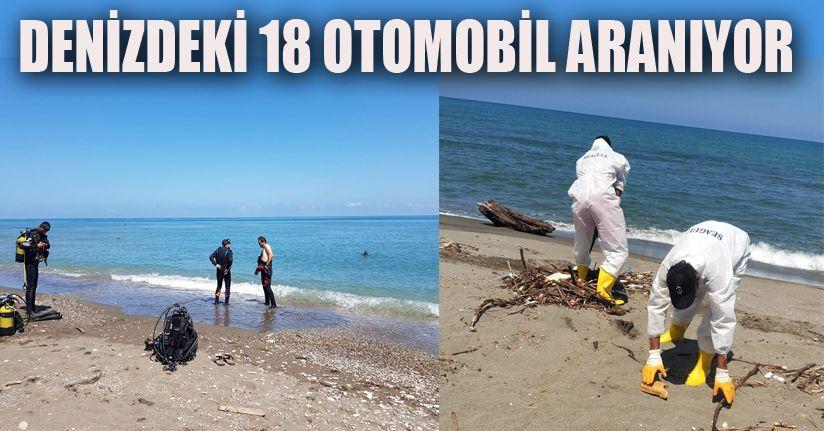Sel'de kirlenen sahiller özel ekipler tarafından temizleniyor