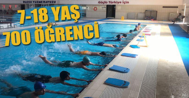 Yüzme Antrenmanları Devam Ediyor