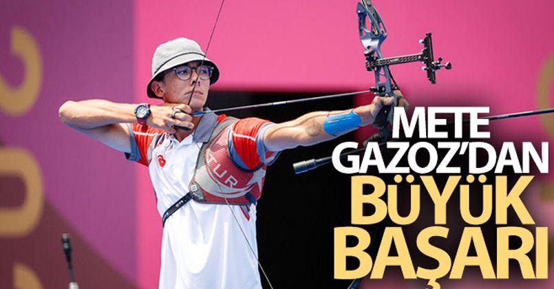 Mete Gazoz yarı finalde!