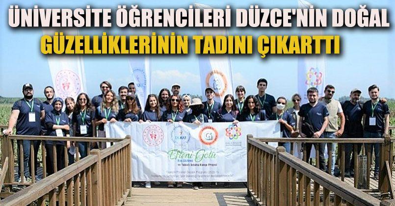 DÜ Öğrencileri Turizm Noktaları Gezdiler