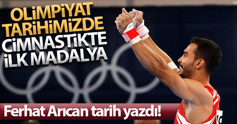 Ferhat Arıcan bronz madalya kazandı