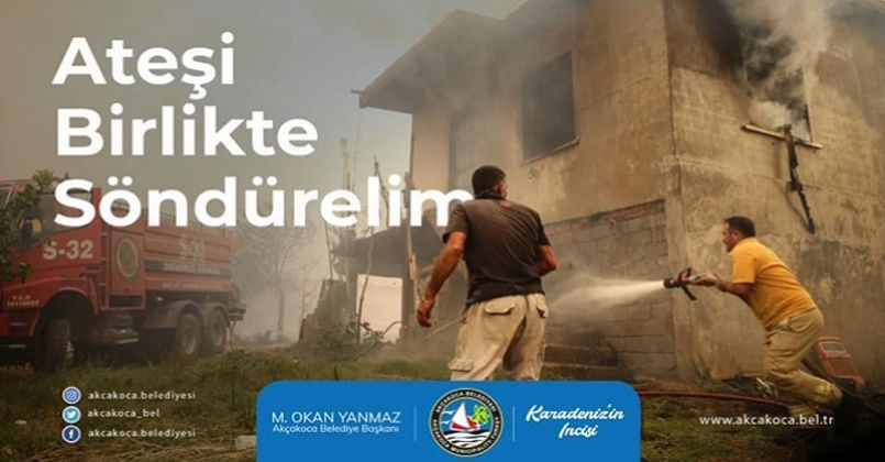 Akçakoca Belediyesi Yardım Kampanyası Düzenliyor