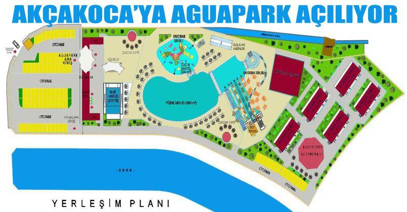 Karadeniz'in En Kapsamlı Aqua Parkı Akçakoca'da Açılıyor