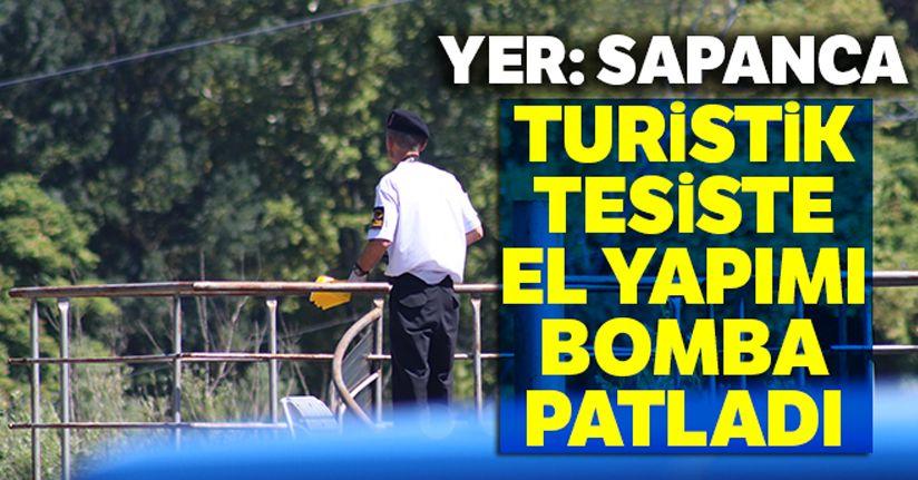 Sapanca Gölü kıyısındaki turistik tesiste el yapımı bomba patladı: 2 yaralı
