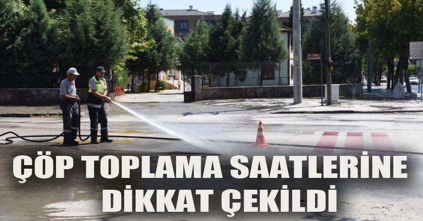 Sokaklar Temizleniyor