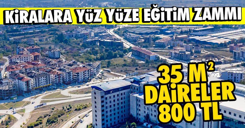 Üniversiteliler dönüyor! Beçi'de kiralara yüzde yüz zam!