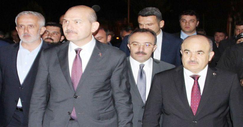 """Bakan Soylu'dan Vali Dağlı'ya `Teşekkür Belgesi"""""""