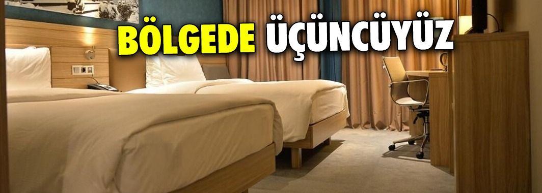 Düzce bölgede en çok yatağı olan üçüncü şehir