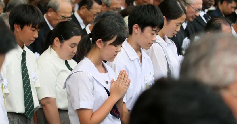 Nagasaki'deki facianın 74. yılı