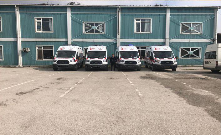5 Ambulans daha geliyor
