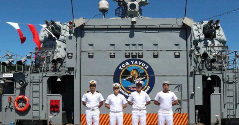 Bahriyeliler Kurban Bayramı'nı gemide geçiriyor