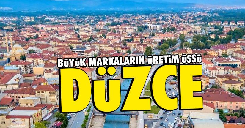 Türkiye'nin marka merkezi Düzce