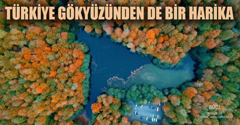 Türkiye'yi drone'leri ile tanıtıyorlar
