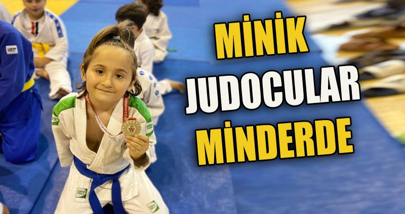 Judo Minikleri Minderde