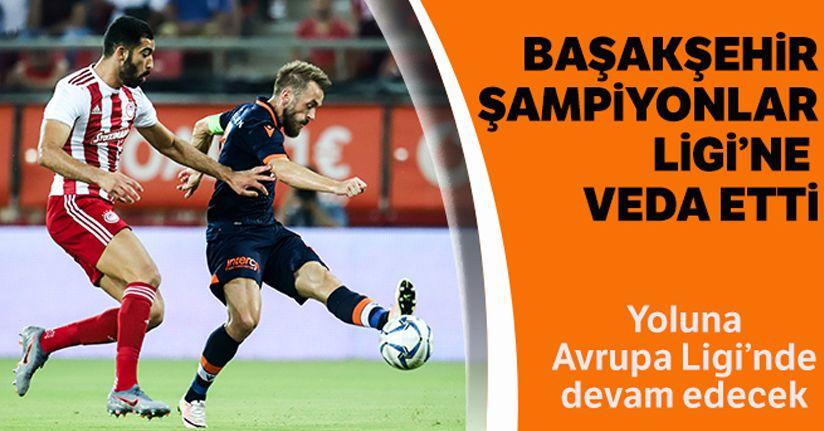Medipol Başakşehir Şampiyonlar Ligi'ne veda etti