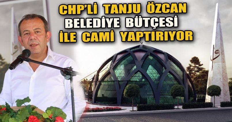 Belediye bütçesiyle yapılan ilk caminin temeli atıldı