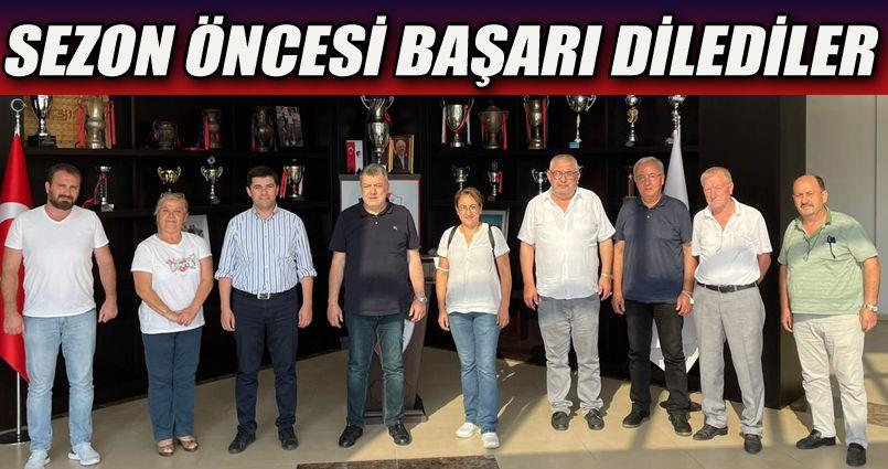 İyi Parti Düzcespor'u Ziyaret Etti