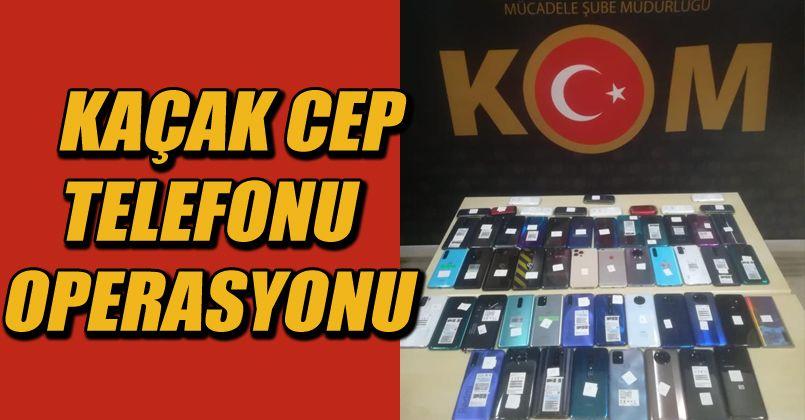 Kaçak cep telefonu satan işyerlerine operasyon: 3 gözaltı
