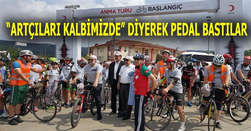 Startı Belediye Başkanı Şahin Verdi Genel Müdür pedal bastı