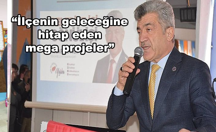 Başkan Yiğit Projelerini Tanıttı
