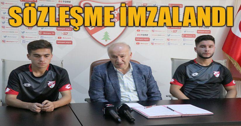 Boluspor, 3 yeni transferine imza attırdı