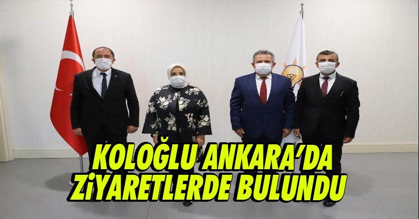 Başkan Koloğlu Ankara'da Ziyaretlerde Bulundu
