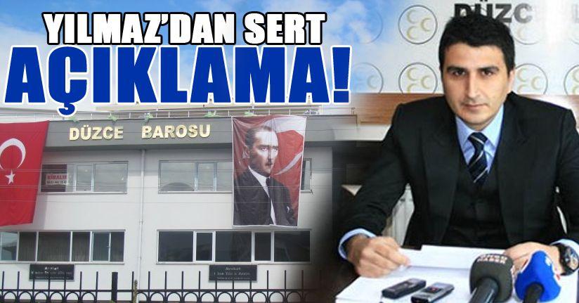 Avukat Sinan Yılmaz'dan Baro başkanına tepki