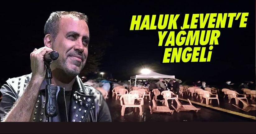 Haluk Levent konseri ileri tarihe alındı