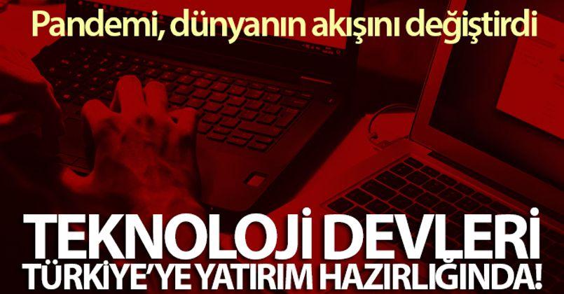 Dünya teknoloji devleri, Türkiye'ye yatırım hazırlığında