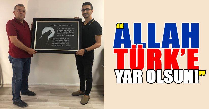 Erdoğan Bıyık'a sanatçı sevgisi