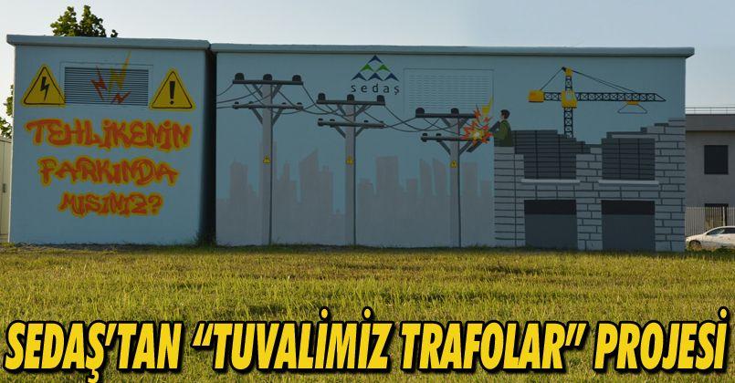 "SEDAŞ'tan ""Tuvalimiz Trafolar"" projesi"