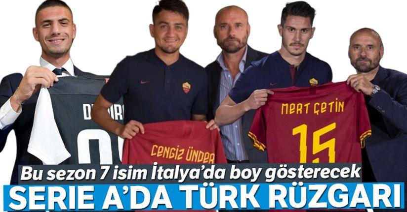 Serie A'da Türk rüzgarı