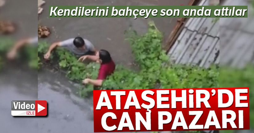 Ataşehir'de su baskını olan evde can pazarı