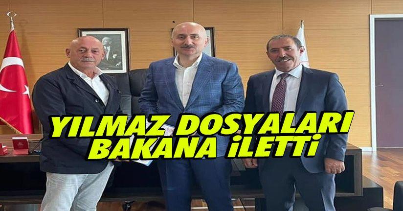 Taşıyıcılar, dosyalarını Bakan Karaosmanoğlu'na iletti