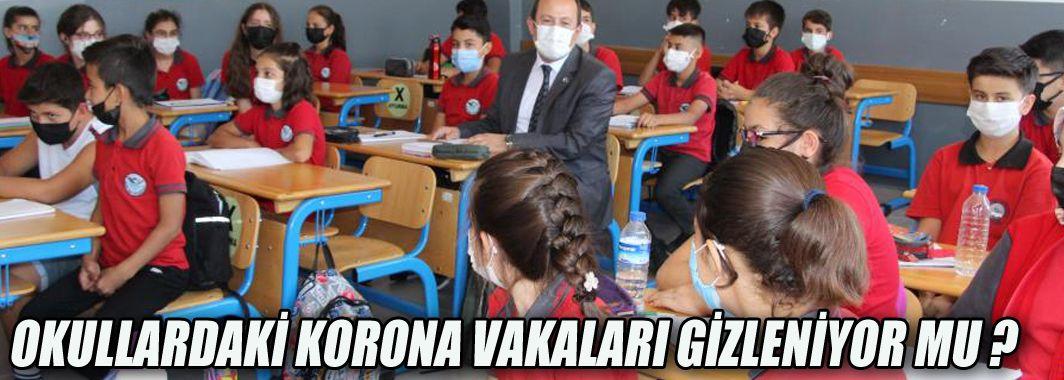 Okullardaki Korona Vakaları Gizleniyor Mu ?