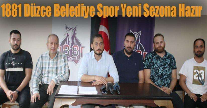 1881 Düzce Belediye Spor Kulübü 2019 - 2020 sezonunun açılışını yaptı