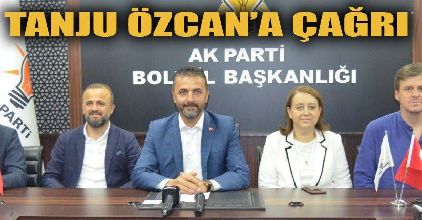 AK Parti Bolu İl Başkanı Nurettin Doğanay:Borcu Açıkla