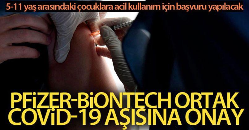 Pfizer BioNTech ile geliştirdiği Covid-19 aşısının güvenli olduğunu açıkladı