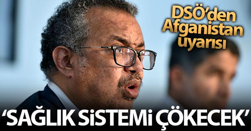 DSÖ: 'Acil önlem alınmadığı takdirde, Afganistan sağlık sistemi çökecek'
