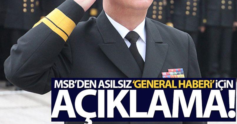MSB kaynakları: İki generalin emeklilik talebi kabul edildi