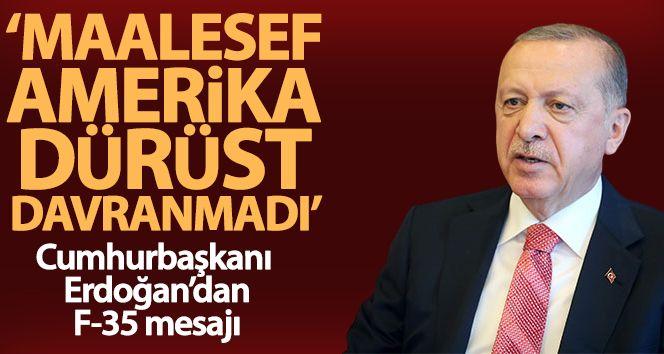 Cumhurbaşkanı Erdoğan: 'Biz Türkiye olarak dürüst davranıyoruz ama Amerika maalesef dürüst davranmadı'